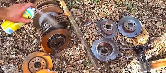 Пули против тормозных дисков