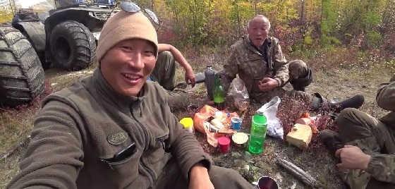 Рыбалка в Оймяконье в Якутии