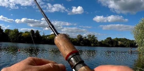 Рыбалка в сильную жару