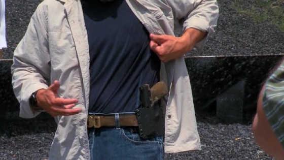 Скрытое ношение пистолета
