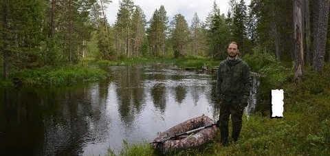 Одиночный сплав по реке Волома