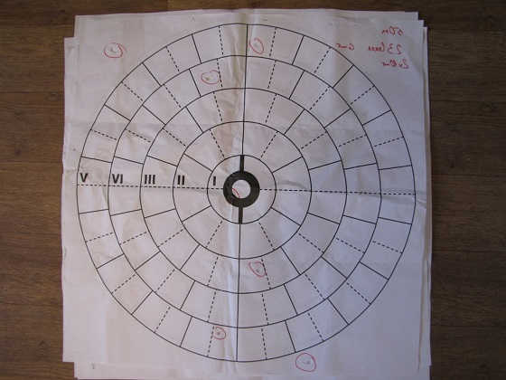 Тест картечи 8 и 8,5 мм насадка 0,5