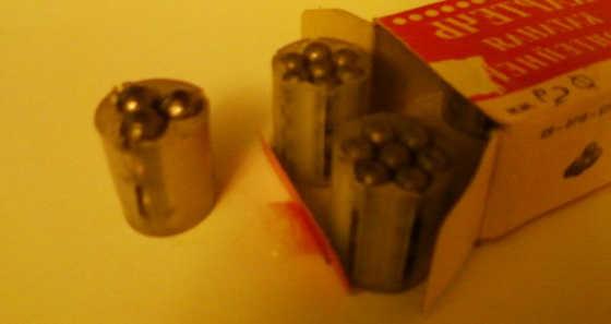 Тест картечи 7,5, 8 и 8,5 мм сужение 0,5