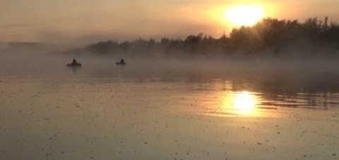 Утренняя рыбалка на Дону