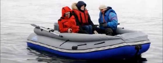 Тест лодки Выдра 430