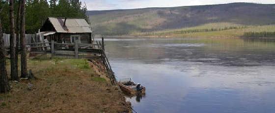 Рыбалка на реке Нижняя Тунгуска