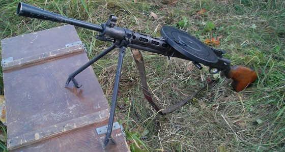 Обзор пулемета ДП-27