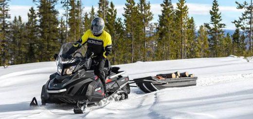 снегоход brp ski doo skandic
