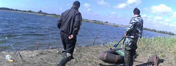 На рыбалку с друзьями