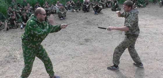 Ножевой бой по методике НКВД