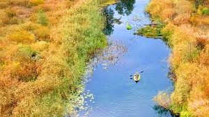 Одиночное путешествие по реке на каяке