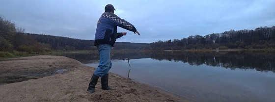 Осенняя Рыбалка на Налима 2019