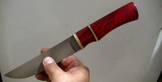 Чем покрасить рукоятку ножа