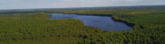 ПОСЛЕДНЯЯ ЛЕТНЯЯ НОЧЬ на лесном озере РЫЖАН