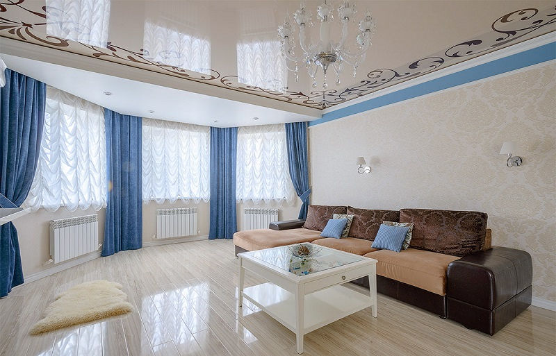Потолки для разных комнат