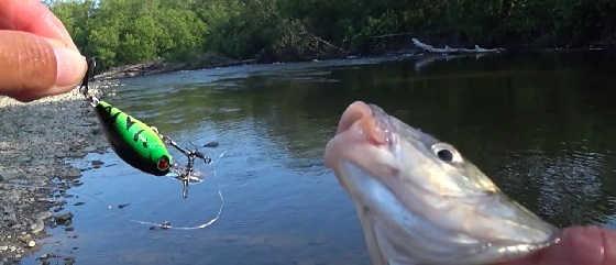 Рыбалка на китайские воблеры