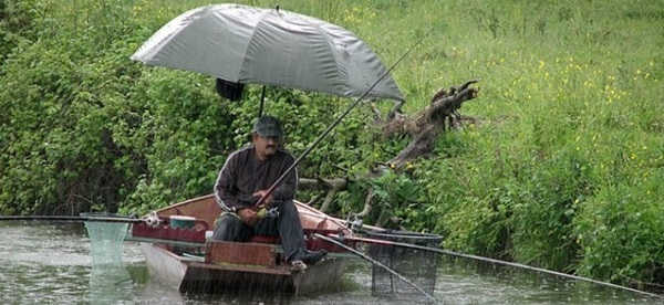 Рыбалка в дождь и ветер
