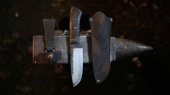 Суровый нож
