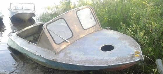 Самый дорогой тюнинг советской лодки