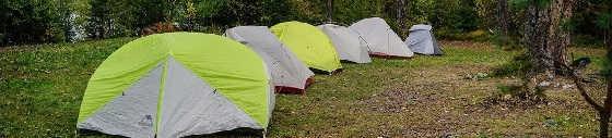 Опыт использования ультралегких палаток