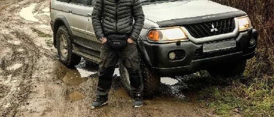 Машина для РЫБАЛКИ Pajero Sport 1