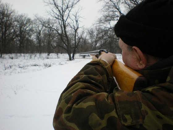 Как ПРАВИЛЬНО целиться в зайца на охоте?