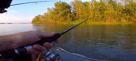 Ловля судака и щуки на спиннинг с лодки
