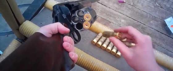 """МЦ-255 - """"Револьверный дробовик"""" 12-го калибра!"""