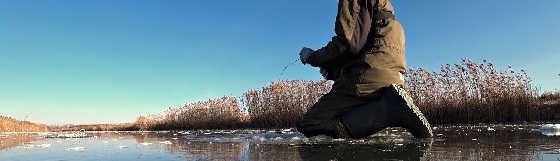 Рыбалка на жерлицы и уловистую мормышку