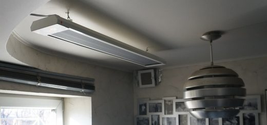 обогреватель электрический потолочного размещения