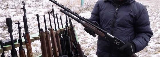 Охотничье оружие из Вятских Полян
