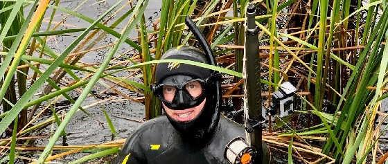 Осенняя подводная охота на ВОЛГЕ 2019