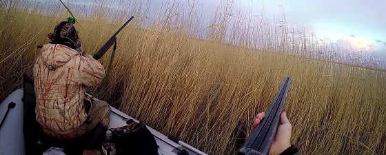 Осенняя охота и рыбалка в Себяне