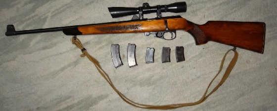 Все малокалиберные винтовки ТОЗ