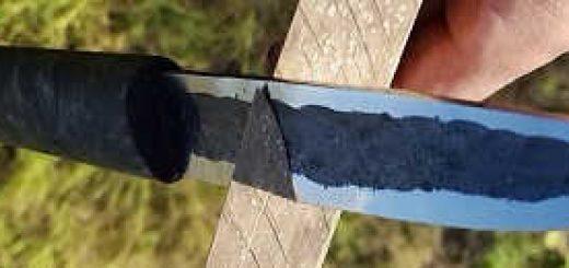 Якутский нож 2.0: Процесс изготовления