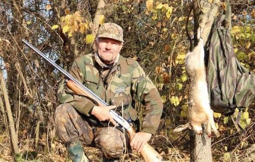 Охота на зайца по утренней росе