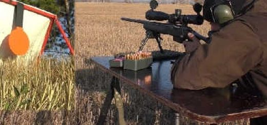 Remington 700 в 308 WIN на 900 метров