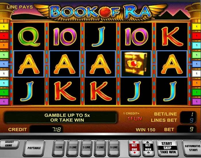 Игровой автомат Book of Ra в казино Супер Слотс