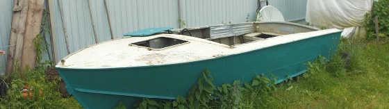 Лодка на прокачку