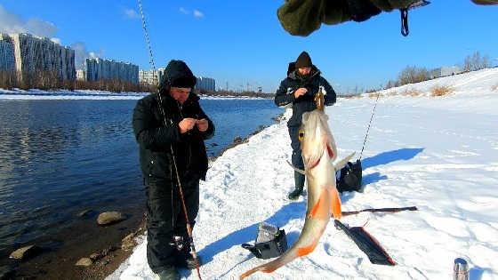 Ловля на джиг зимой