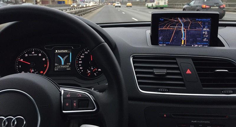 Навигация Audi Q3