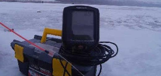 Рыбалка зимой с эхолотом