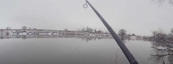 Зимний спиннинг на Москва-реке в ЧУЛКОВО