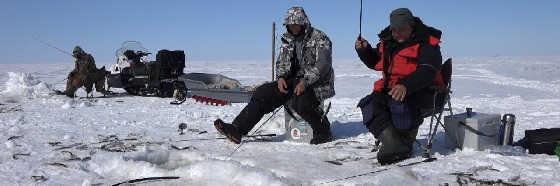 Зимняя рыбалка корюшки в лимане Амура
