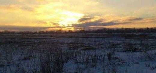 Организация быта и ночлега зимой в степи