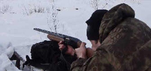 Стрельба пулей Азот из МР-155