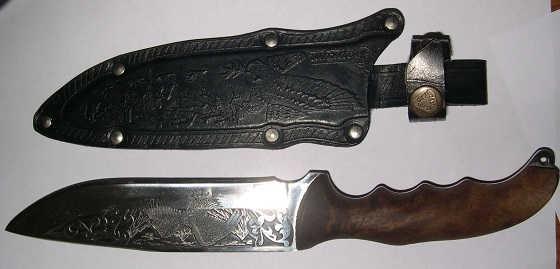 Как делают кизлярские ножи