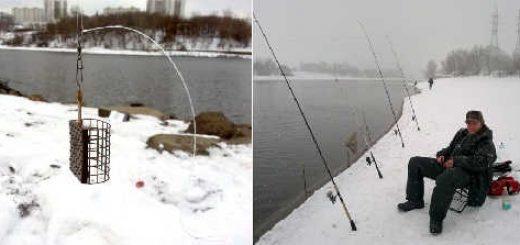 Речной Фидер зимой