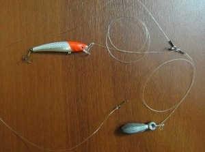 Отводной поводок для судака и щуки