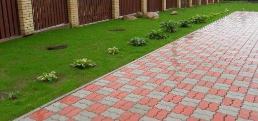 Тротуарная плитка в дом - это выбор практичных людей